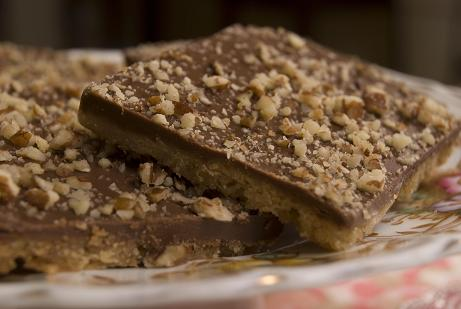 Toffee Bars | Bake Sale